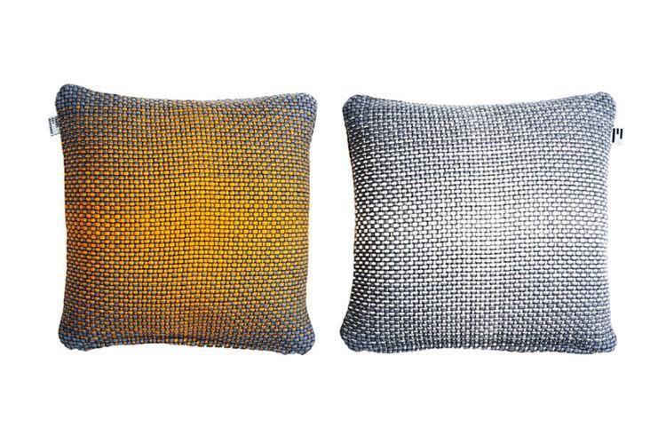 modern design young guns 2014 Simon Key Bertman pillow gradient