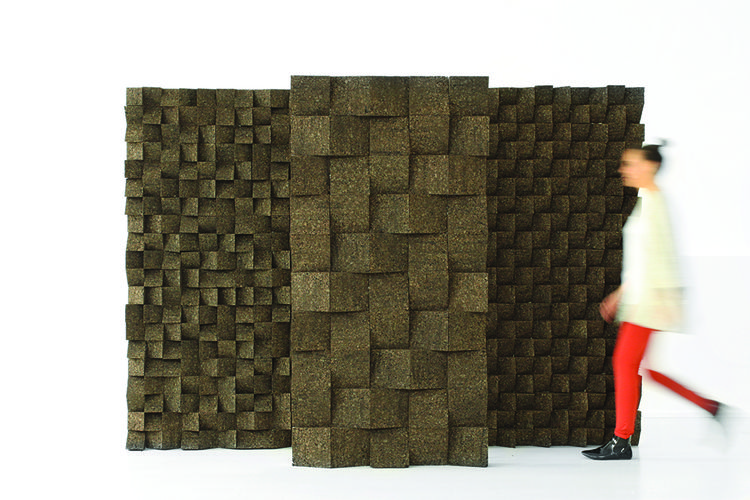 modern design young guns 2014 Tania da Cruz braque cork sound absorber