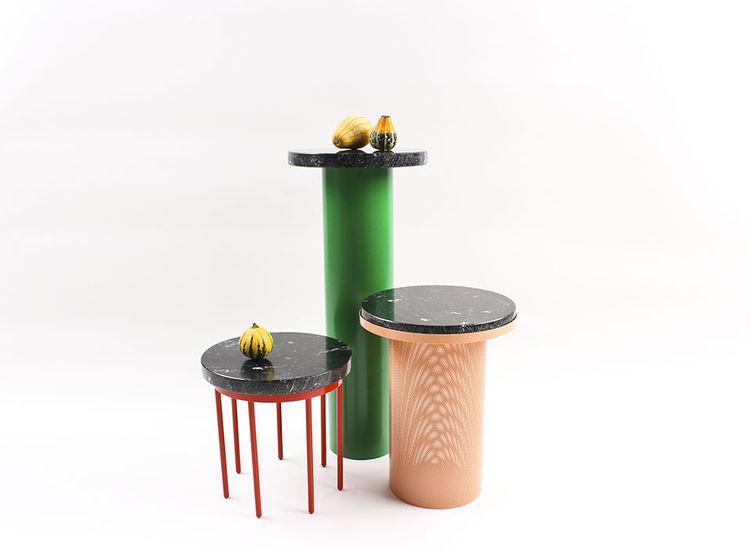 modern design young guns 2014 Vera & Kyte pedestal tables