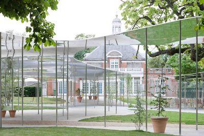 SANAA Pavilion edge exterior