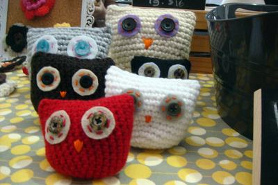 crochet owls renegade