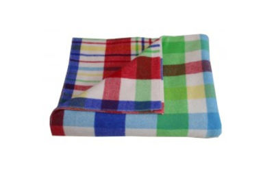 designers eye multi plaid blanket