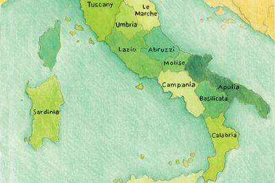 italian design 101 map regions
