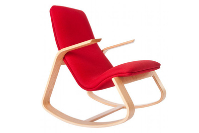 Modern Ralph Rapson rocking chair