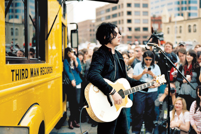 rolling records jack white