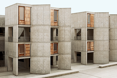 san diego california salk institute exterior