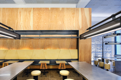 meal Chipotle restraunt design