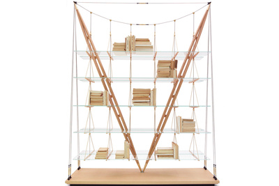 veliero shelf cassina albini