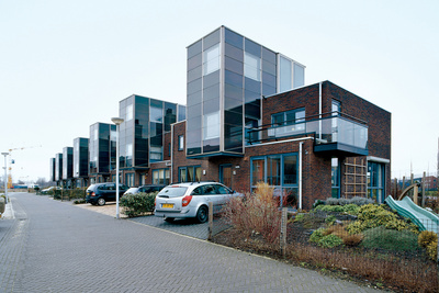 IJsselstein housing project exterior landscape