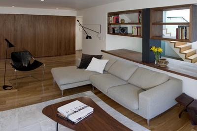 Sunset District Renovation Atelier KS Living room