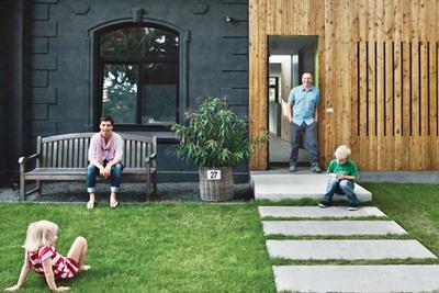 minimal modernist home renovation in Germany