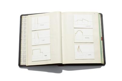 Journal of architect Deborah Berke