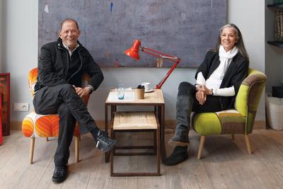 Yehia Abdelnour and Monique Bresson of 33 Rue Majorelle