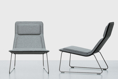 Low Pad Chair by Jasper Morrison
