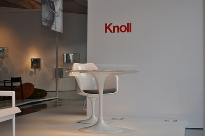 Knoll chair onstage for Design Lives.