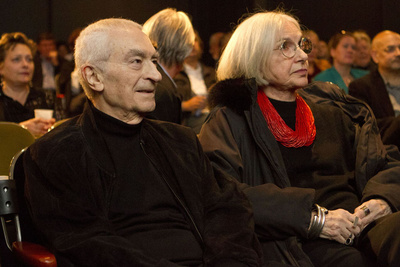 massimo and lella vignelli portrait