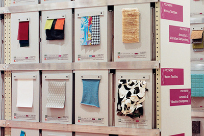 high tech materials material connexion office material samples 1