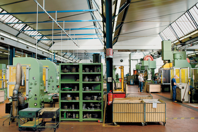 alessi caffetiere factory