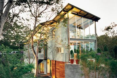 casa tuscania exterior perspective