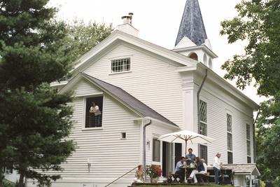 suarez house exterior backyard