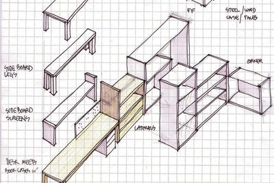 offices 101 intelligent design sketch