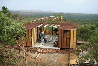friedmeyer fred prefab house construction