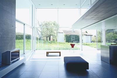 home office 101 fleischmenn office living room view of garden