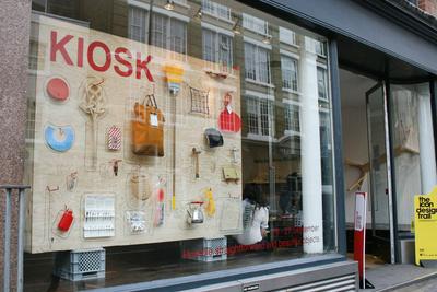 london kiosk exterior storefront