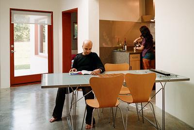 pande misra house dining room portrait