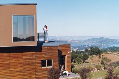 sherman house exterior portrait