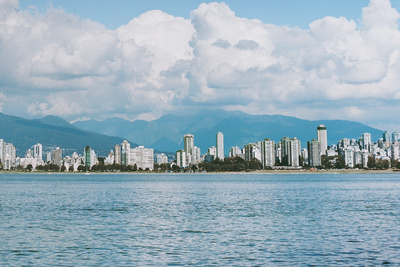 vancouver canada skyline view