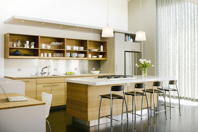 park street residence kitchen from family