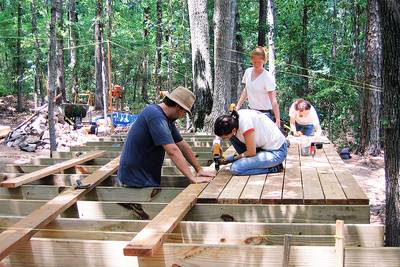 terry laura amphitheater construction