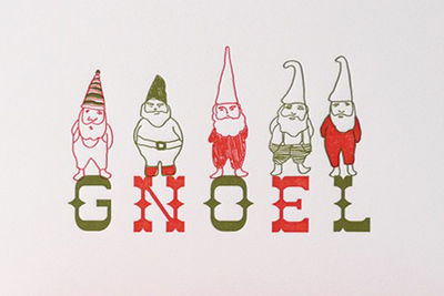 gnoel holiday card