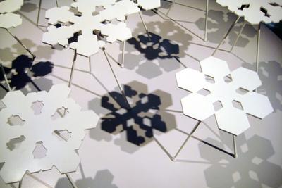 snowflakes table koivisto offect two