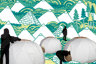 the nomad three yurts portraits green1