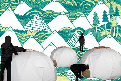 the nomad three yurts portraits green1