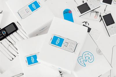 skypephone boxes