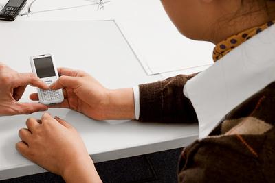 skypephone user interface