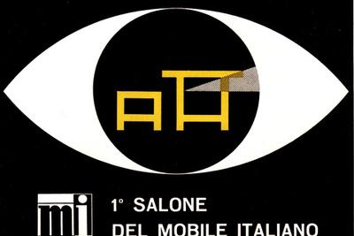 Salone Internazionale del Mobile 1961 Camillo Pizzigoni poster