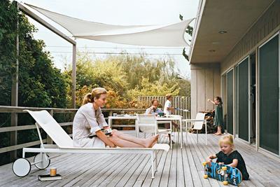 Modern beach bungalow renovation in Long Island