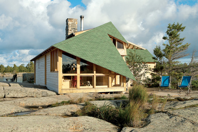 the thom cabin exterior  0