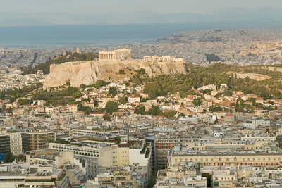 Athens, Greece cityscape