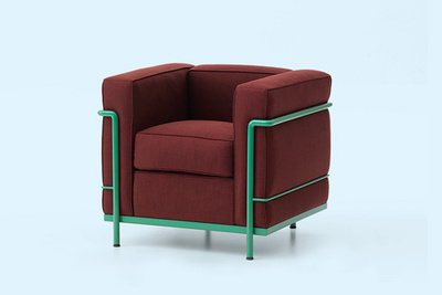 LC2 armchair by Le Corbusier for Cassina