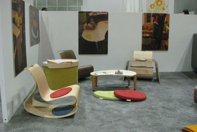 "The mod rocker and lima play table, part of the <a href=""http://www.iglooplay.com/"">Igloo Play</a> collection by Lisa Albin Design. The collection is eco-friendly, and made in the USA."