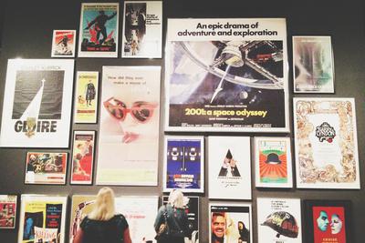 kubrick retro film posters