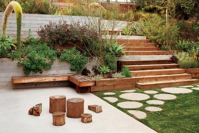 devis purdy house backyard garden  0