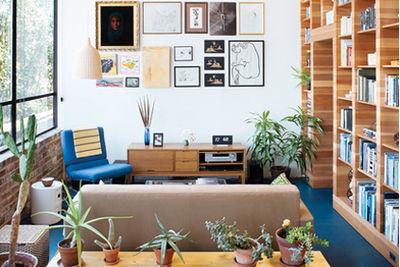 benoit residence living room