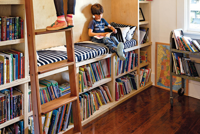 zuckerman residence library