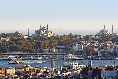 istanbul turkey detour cityscape